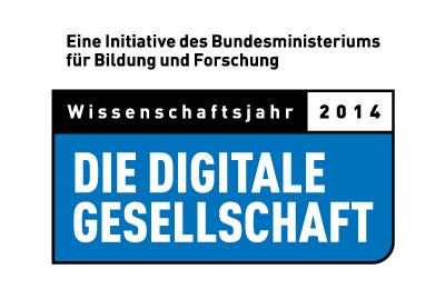 Wissenschaftsjahr 2014, die Digitale Gesellschaft Logo