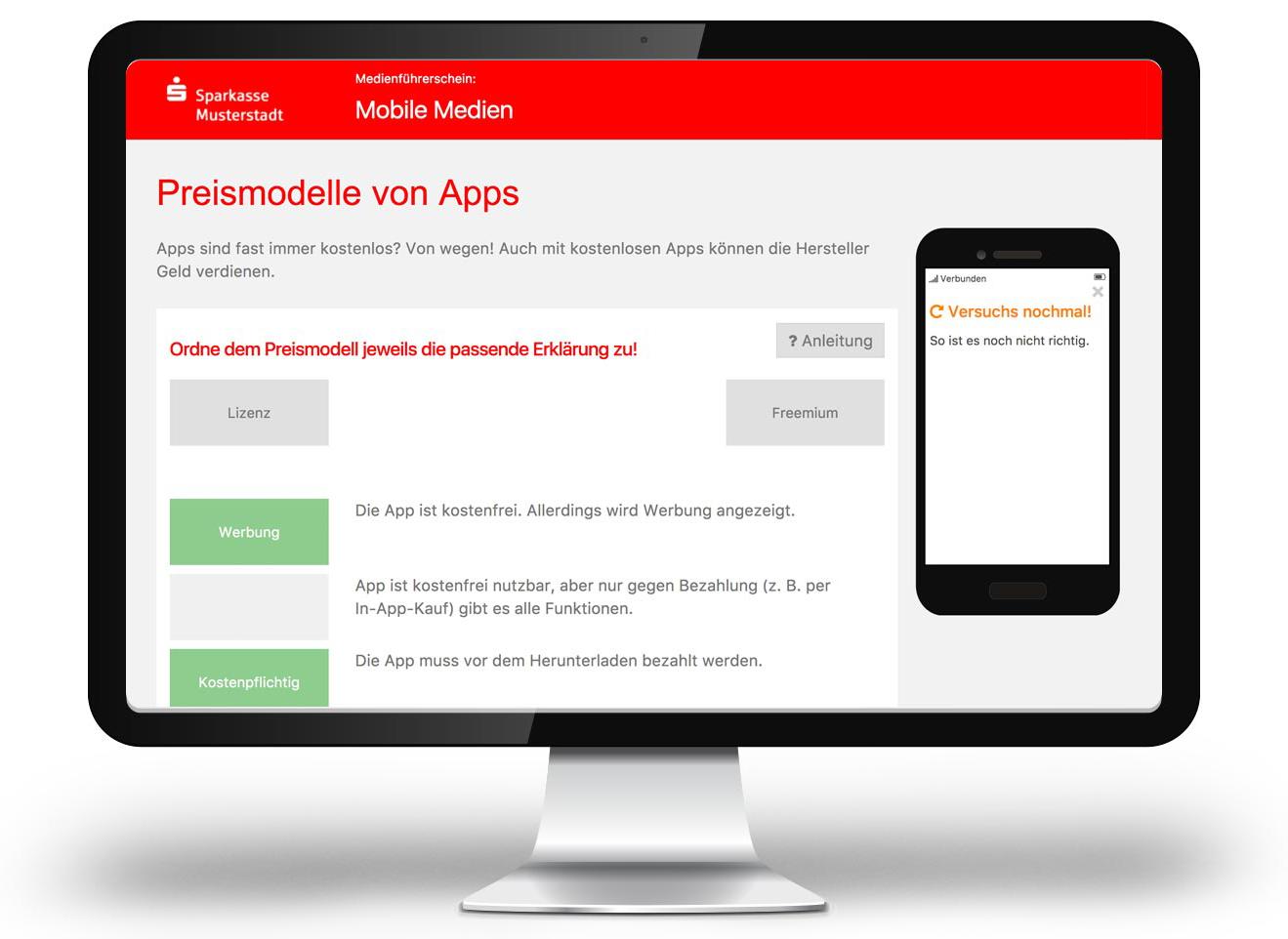 Medienführerschein Screenshot 2