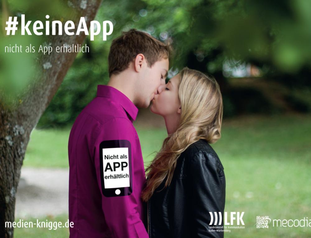 Der erste Kuss – nicht als App erhältlich!