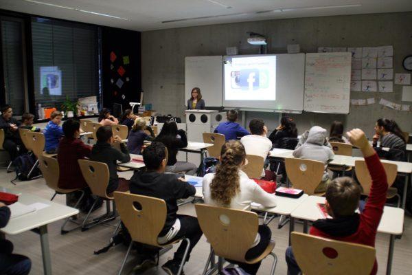 mecodia Vortrag über Facebook, Instagram und Co in Schule