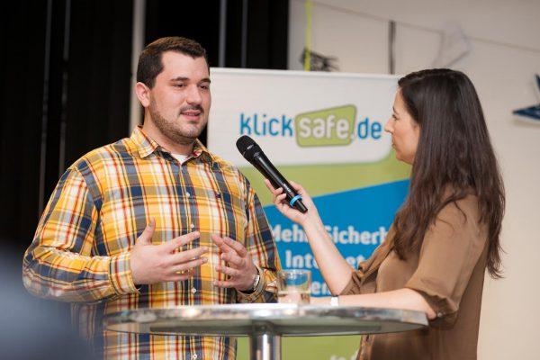 Felix Ebner spricht über klicksafe.de