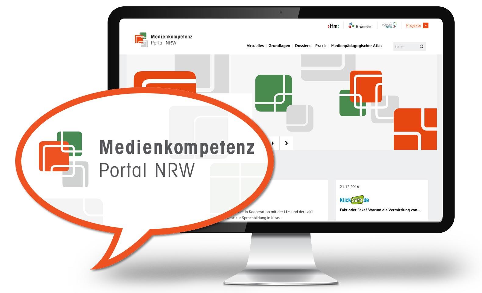Projektreferenz Medienkompetenz Portal NRW