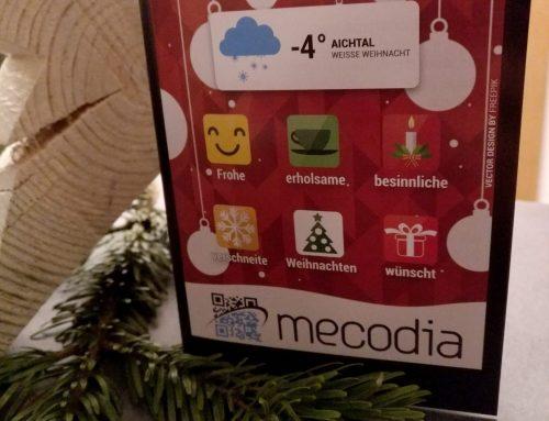 mecodia wünscht frohe Weihnachten und einen guten Rutsch ins neue Jahr