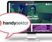 Handysektor-Webseite 2018