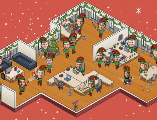 Das bunte Weihnachtstreiben bei mecodia…