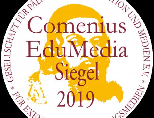 GiroHeroes mit Comenius EduMedia Siegel 2019 ausgezeichnet.