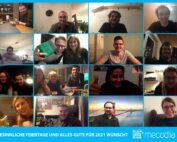 Das Team von mecodia wünscht besinnliche Weihnachten und alles Gute für das Jahr 2021
